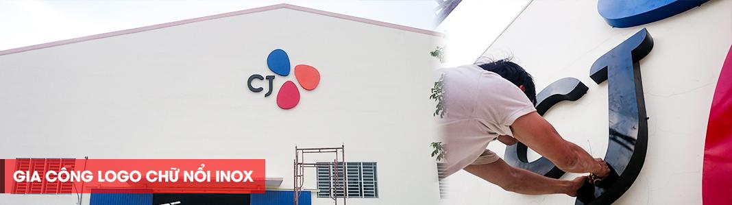Thi công logo nhà xưởng