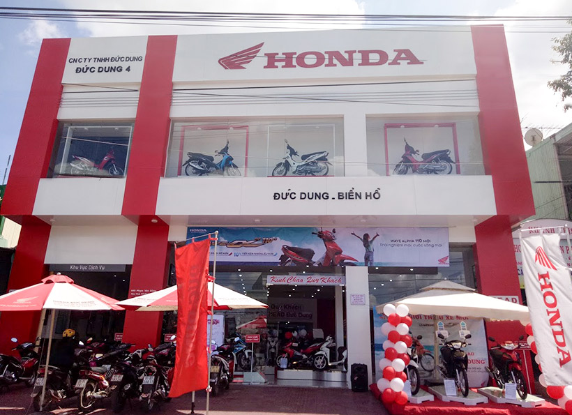 mat tien alu showroom honda